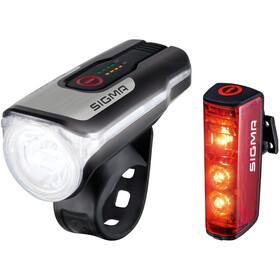 SIGMA SPORT Aura 80/Blaze Zestaw oświetlenia na USB